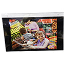 17w x 11h Ad Frames: Wall w/Opt Business Cd Pkt