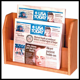 newspaper rack 1. Unique Rack Main16 34w X 9h 1 34d 2 For Newspaper Rack B