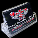 3 7/8w x 2 1/8h x 1 3/8d - Business Card Holder
