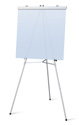 Flip Chart Easel, Adjustable, Holds 30 Lbs
