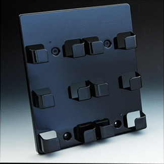 Wall mount business card holder 6 pocket business card holder main 6 pocket wall mount business card holder wallblack colourmoves