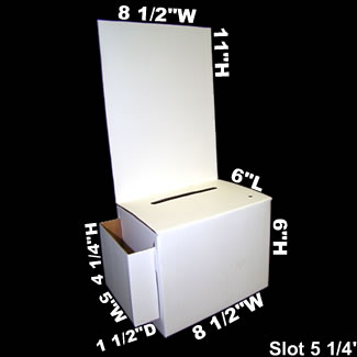 Cardboard Suggestion Box With Pocket Cheap Buy