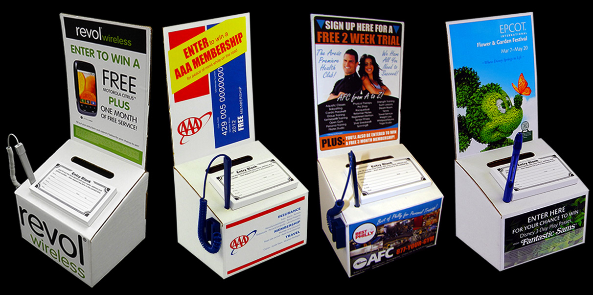 Main1-6 3/4W x 5 3/8L x 5 3/4H & Cardboard Ballot Box: Includes 2 Labels u0026 Factory Direct Low Price! Aboutintivar.Com