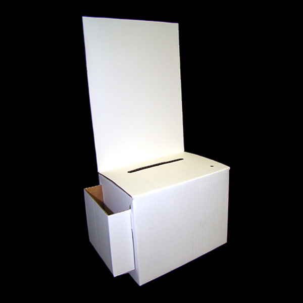 Cardboard Suggestion Box With Pocket - Cheap | Buy Manufacturer Direct