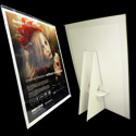 8 1/2 x 11 Cardboard Display: White w/Display Cover