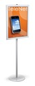 22 x 28, 24 x 36 Sign Holder Stand, 1 Sided, Steel Base