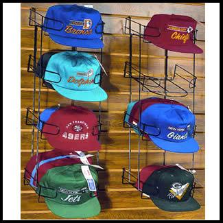 Captivating Main 48 Caps/4 Tiers   Baseball Cap Racks: Slatwall