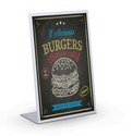 7 x 9, 10 x 13, 15 x 3 L Back Wet Erase Menu Boards:Black