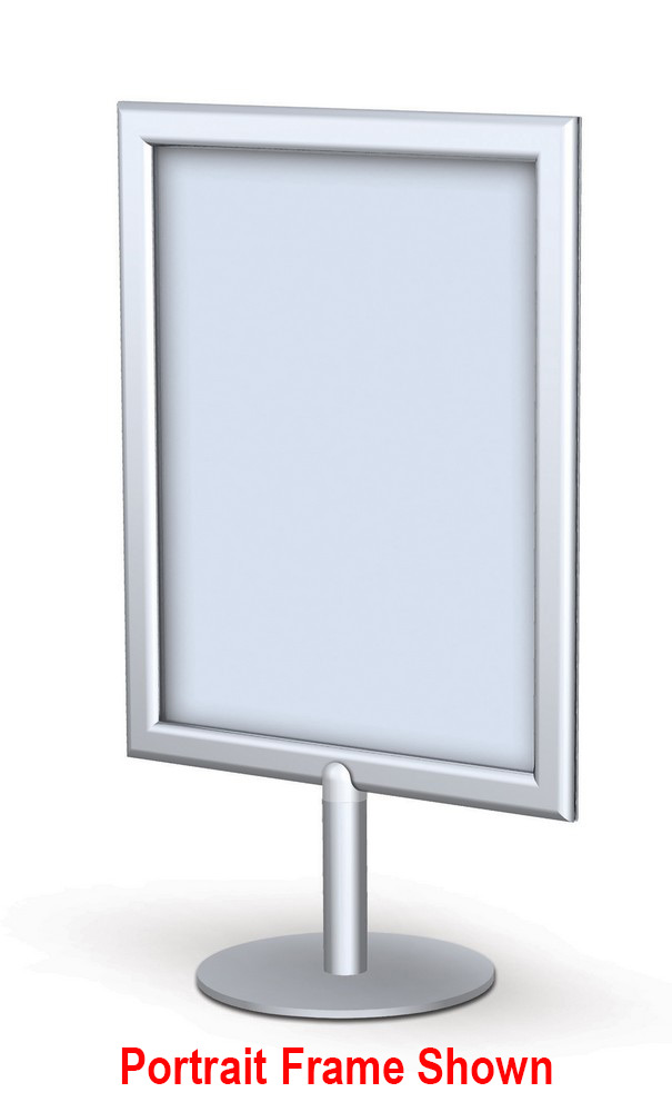 11 x 8 14 x 11 17 x 11 tabletop round sign frame. Black Bedroom Furniture Sets. Home Design Ideas