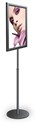 8 1/2 x 11, 11 x 14 or 11w x 17, 14 x 22 Sign Stand/Adjustable Height