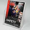 8 3/4w X 9h X 3d Acrylic Magazine Display: Tall/Deep