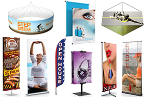 Banner Displays & Stands