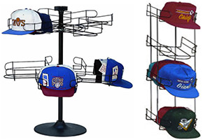 Counter Baseball Cap Racks
