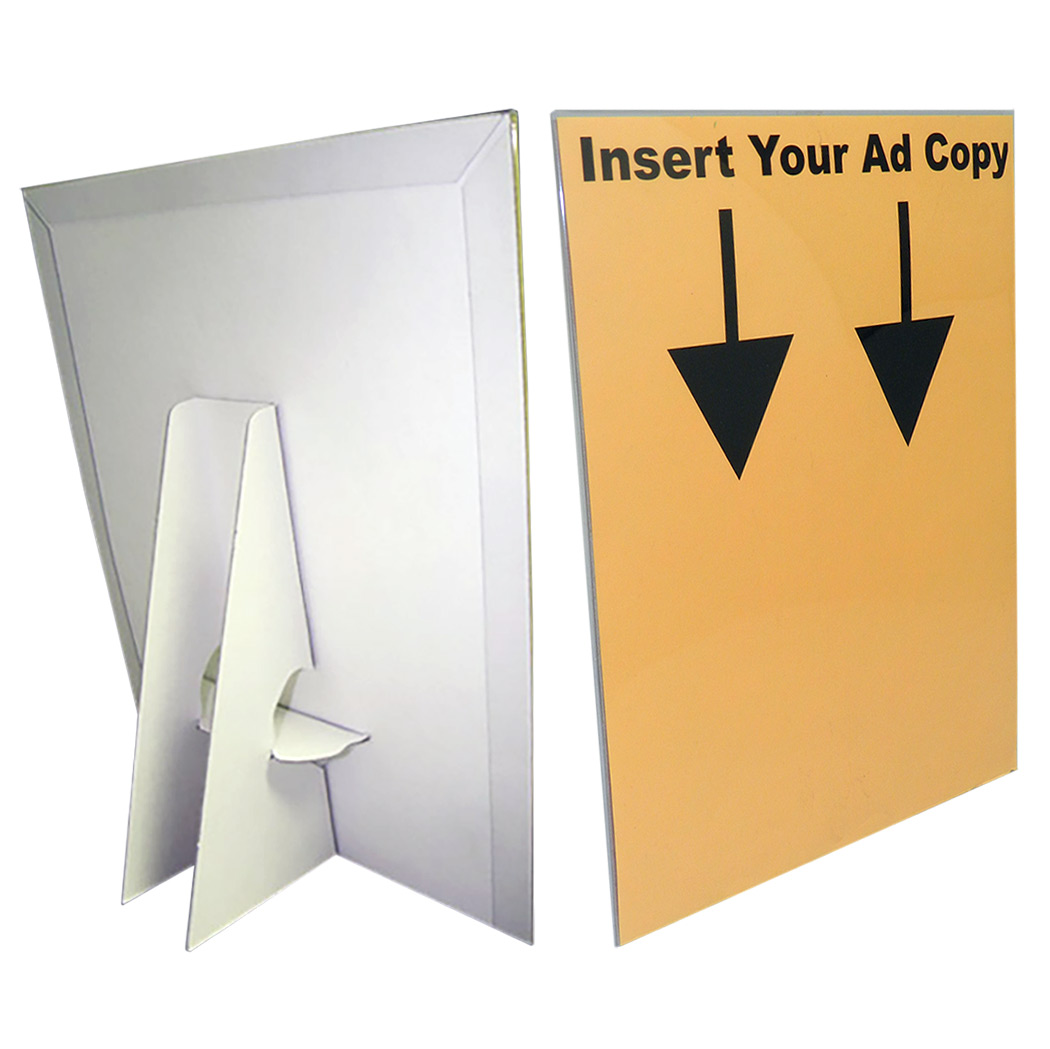 8 1 2 Quot X 11 Quot Clear Slip On Protected Sheet Display Cover