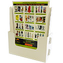 9 1/4w x 11h x 2d Cardboard Magazine Or Flyer Holder