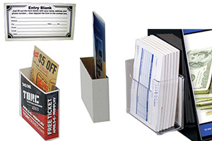 Ballot Box Add On Accessories, Pockets, Entry Pads