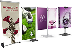 Counter Banners, Presentation Exhibits