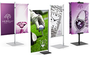 Counter Banner Stands