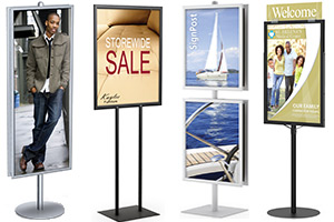 Poster Display Stands