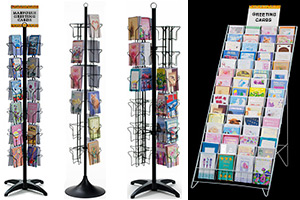 Floor retail store displays floor greeting post card displays m4hsunfo