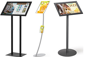 Menu, Podium & Directory Stands