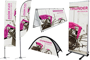 Outdoor Banners & Flags