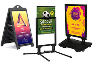 Outdoor Weatherproof & Sidewalk Signs
