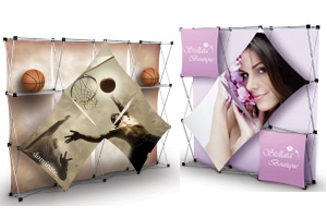 Pop Up Exhibits / Trade show Displays