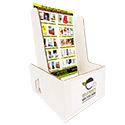 6 1/4w x 10h x 5d Booklet Holder: 1 Label