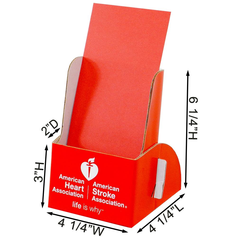 Printed Cardboard Brochure Holder