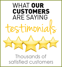 What Our Thousands Of Satisfied Customers Are Saying About Us!