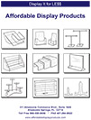 Affordable Display Products Acrylic Products Catalog