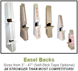 Click to view Easel Backs