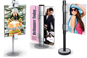 Clip-On Sign Holders
