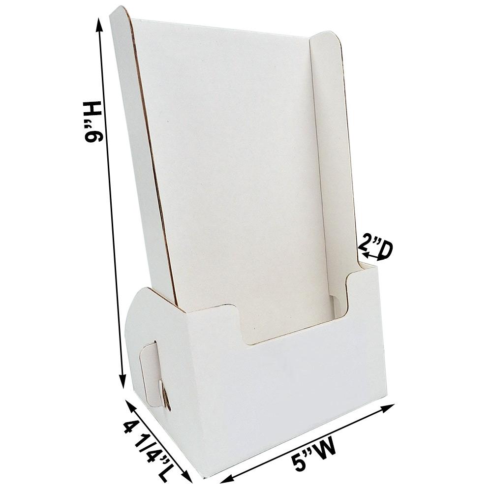Tall Cardboard Leaflet Dispenser For 20