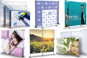 Exhibit / Trade Show Popups, Walls & Panels