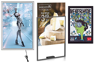 Wall Poster Sign Frames